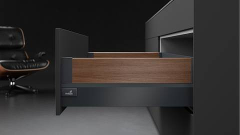 Drawer systems: to make furniture even more exciting